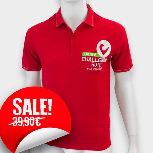 Challenge Roth Polo Shirt Rot SALE