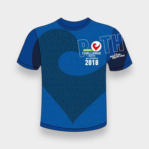 Challenge Roth Namensshirt DCR 2018 Blau