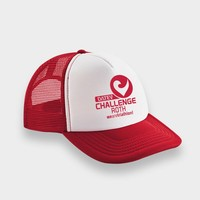 Challenge Roth Challenge Retro Cap in Red/White