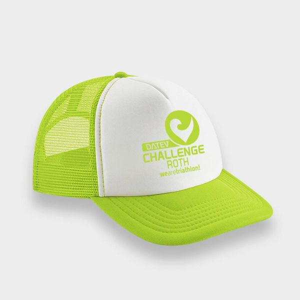 Challenge Roth Challenge Retro Cap in Lime/White