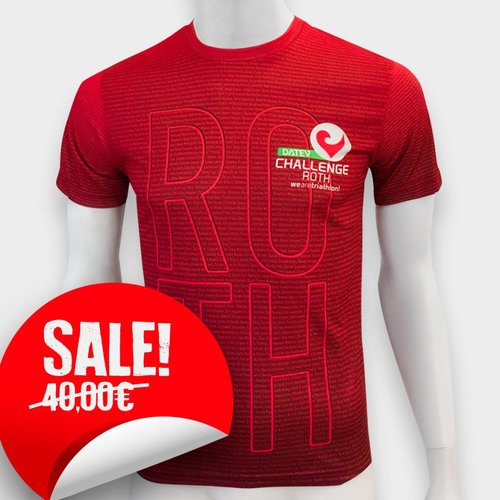 Challenge Roth Namensshirt DCR 2017 Rot