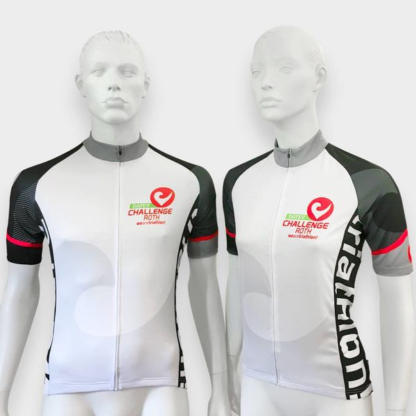 "RenéRosa Challenge Biketrikot ""Performance"" in White and Red"