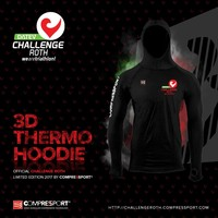 Compressport Compressport 3D Ultralight Hoodie in Schwarz