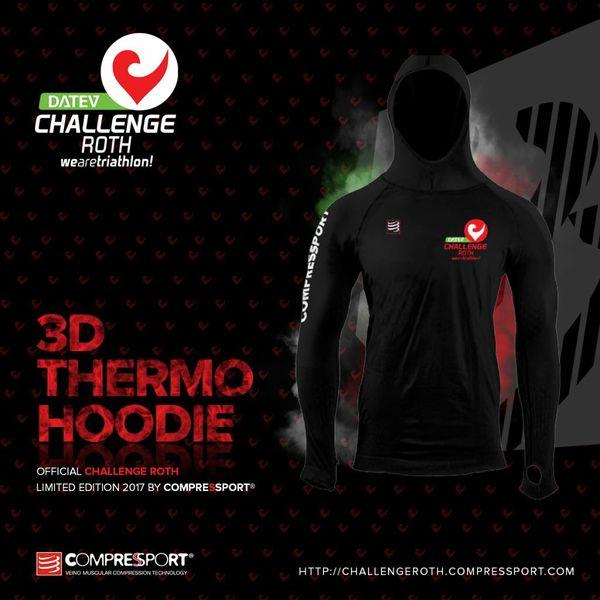 Compressport Compressport 3D Thermo Ultralight Hoodie Black