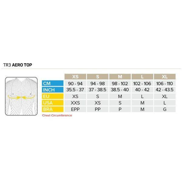 Compressport Compressport TR3 Shirt Aero Top Schwarz und Weiß