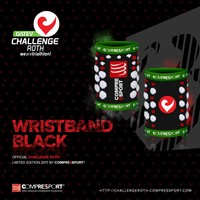 Compressport Compressport Sweatband Black (2 pcs.)