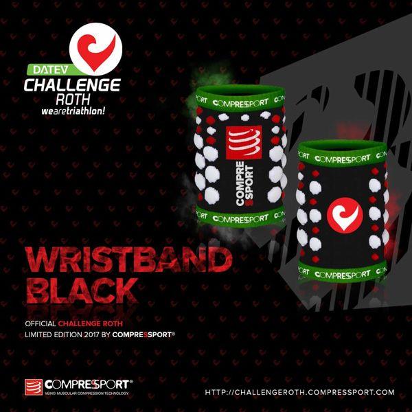 Compressport Compressport Sweatband Black (2 pcs.)