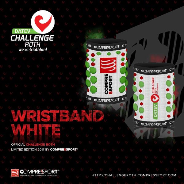 Compressport Compressport Sweatband White (2 Stk.)