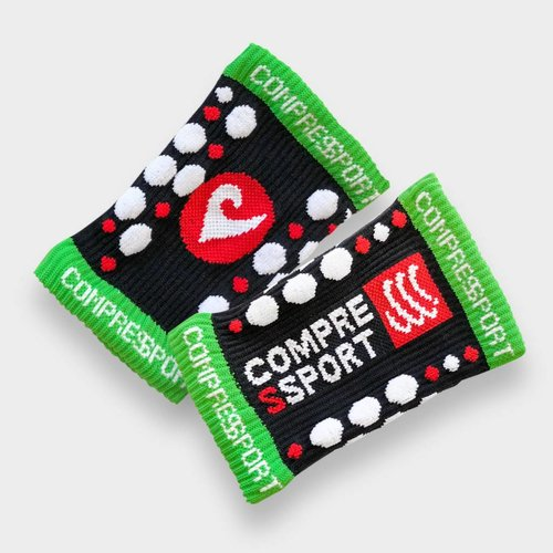 Compressport Compressport Sweatband Black (2 Stk.)