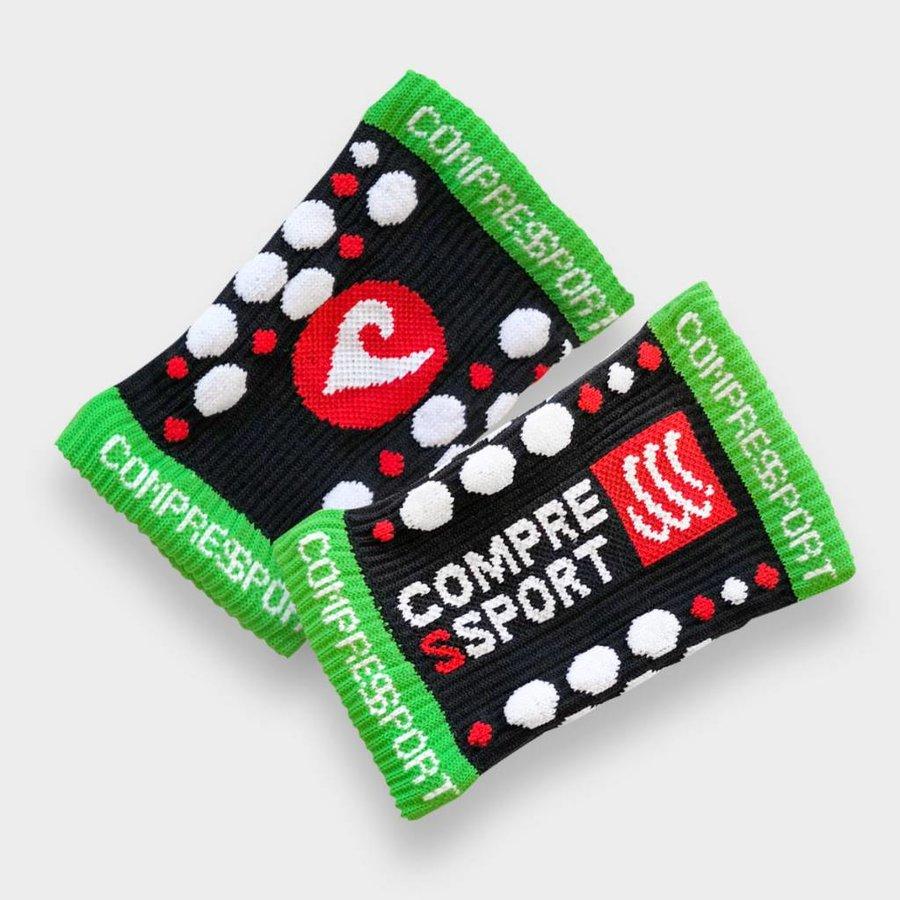 Compressport Compressport Sweatband Black (2 Stk.)