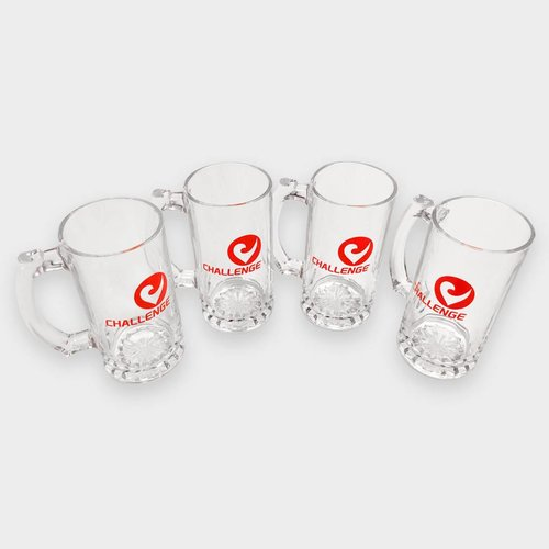 3 Drinking Glases + 1 Glas for free
