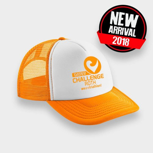 Challenge Roth Retro Cap Orange/White