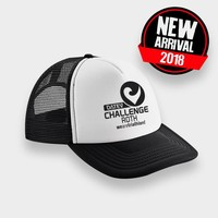 Challenge Roth Challenge Retro Cap in Black/White