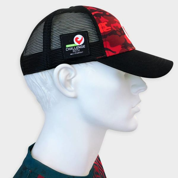 Challenge Technical Trucker rot camouflage