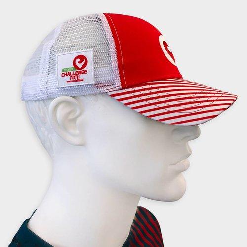 Technical Trucker weiß-rot