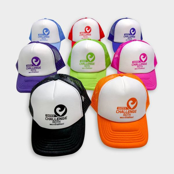 Challenge Roth Challenge Retro Cap in Orange/White