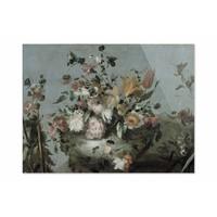 Bloemen • liggende afdruk op plexiglas