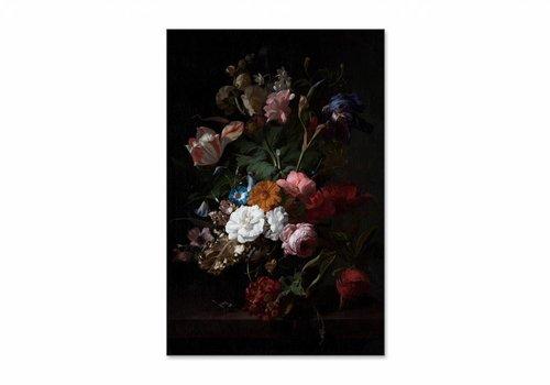 Vaas met bloemen3 • staande afdruk op textiel
