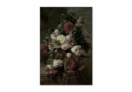 Stilleven met bloemen2 • staande afdruk op textiel