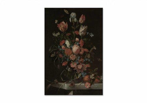 Stilleven met bloemen3 • staande afdruk op textiel
