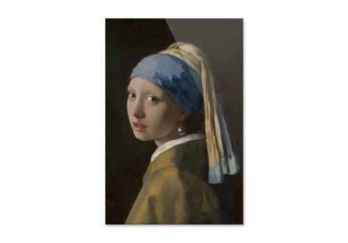 Meisje met de parel • staande afdruk op plexiglas