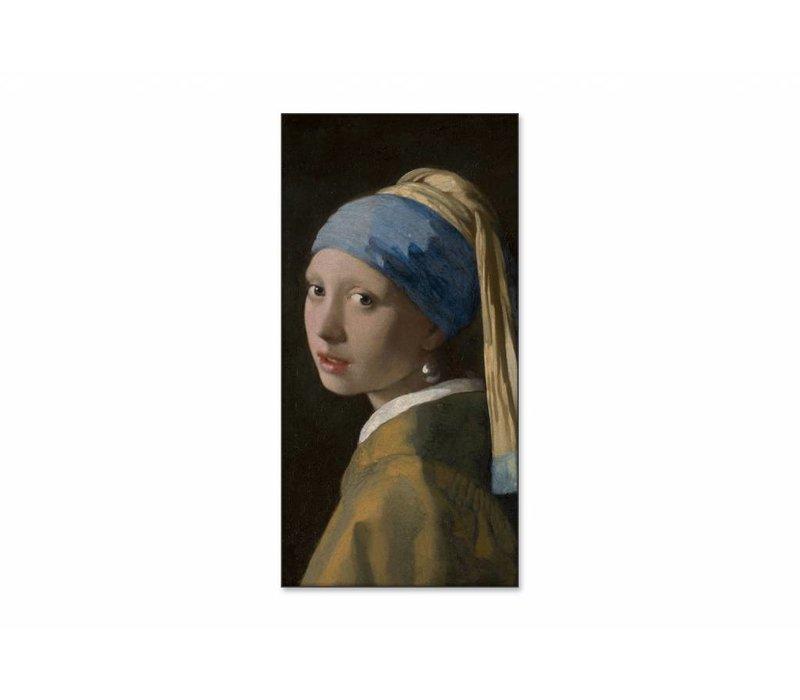 Meisje met de parel • staande afdruk op textiel