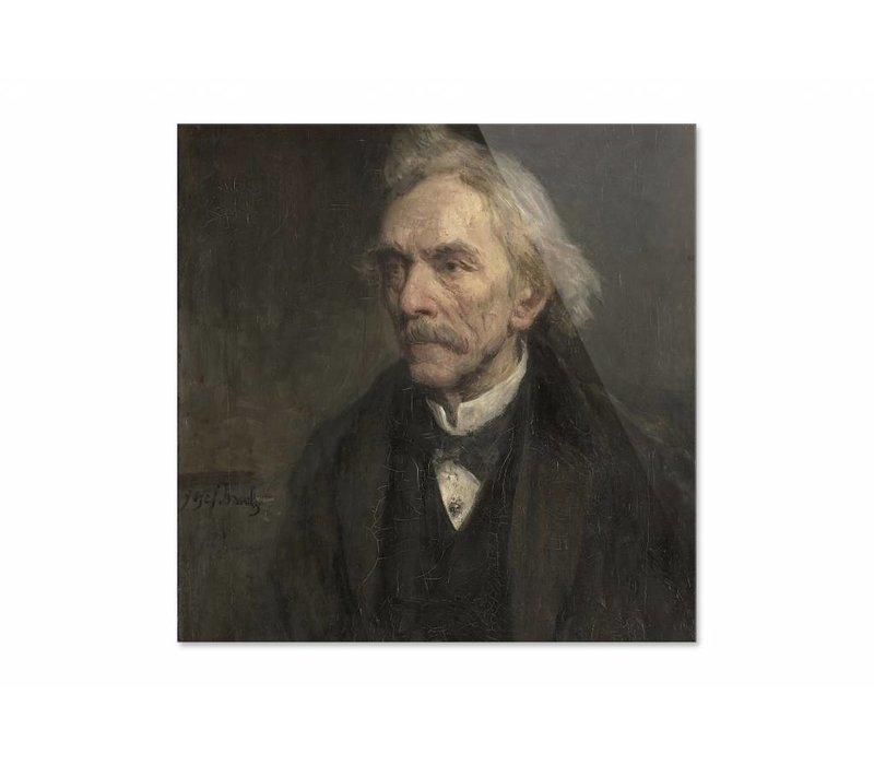 Louis Jacques Veltman • vierkante afdruk op plexiglas
