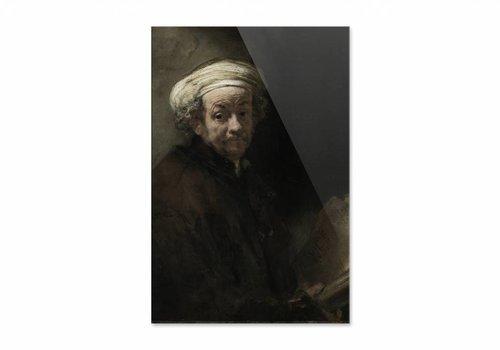 Zelfportret als de apostel Paulus • staande afdruk op plexiglas