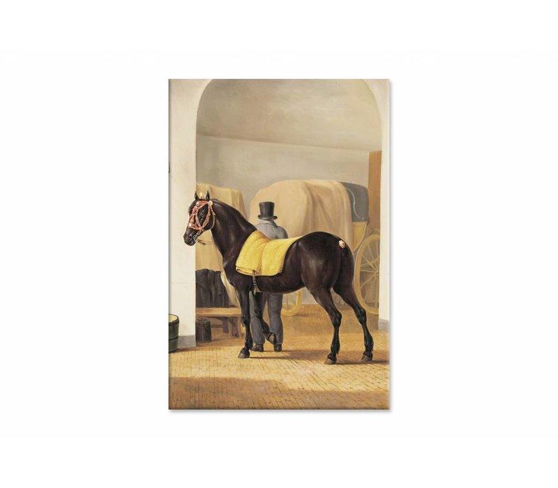 De harddraver de Rot van Adriaan van der Hoop • staande afdruk op canvas