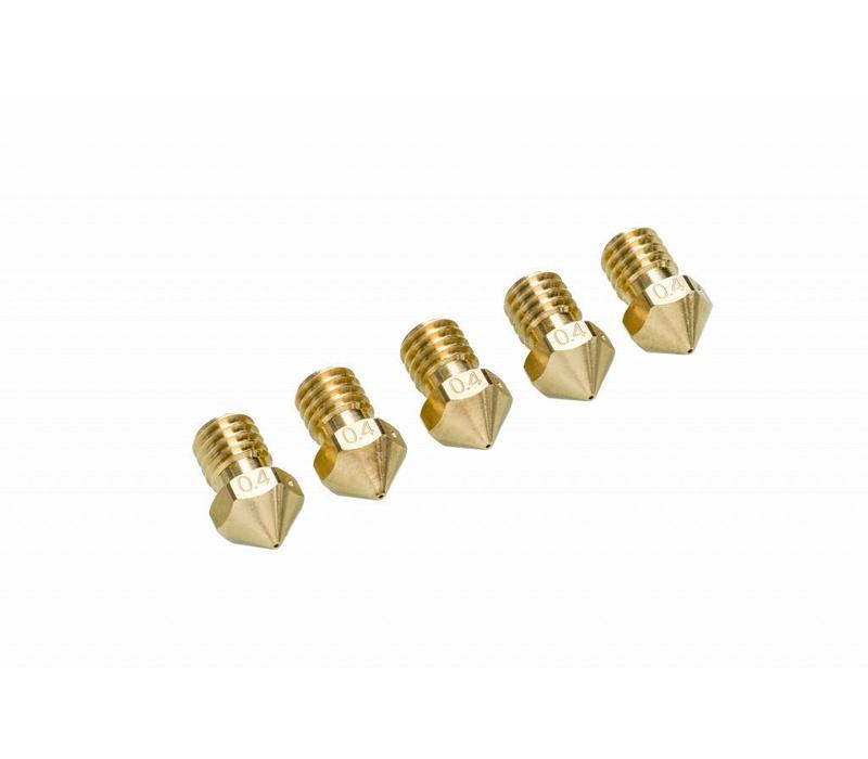 Ultimaker 2+ Nozzle pack 5 x 0,40 mm