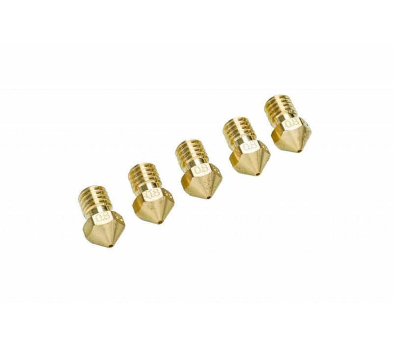 Ultimaker 2+ Nozzle pack 5 x 0,80 mm