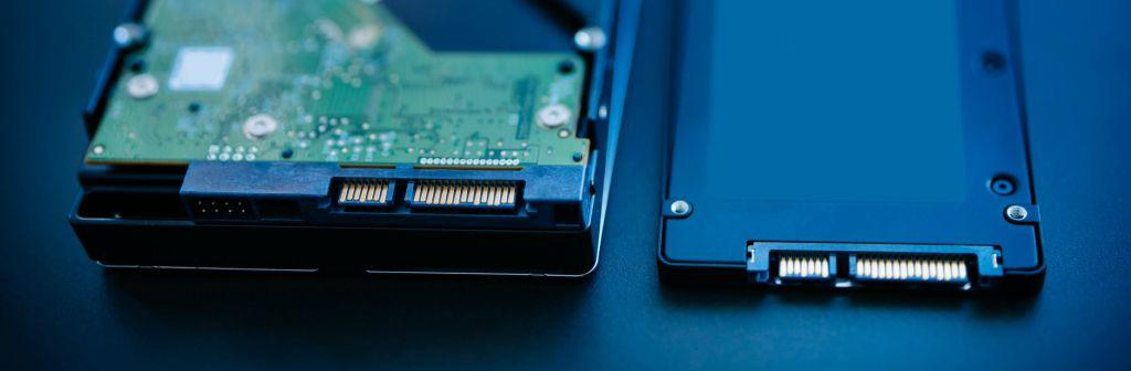 Het verschil tussen de HDD en SSD