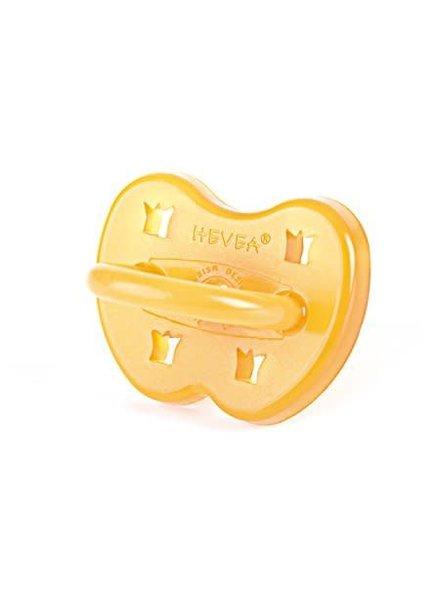 Hevea Pacifier - Crown - 3-36M