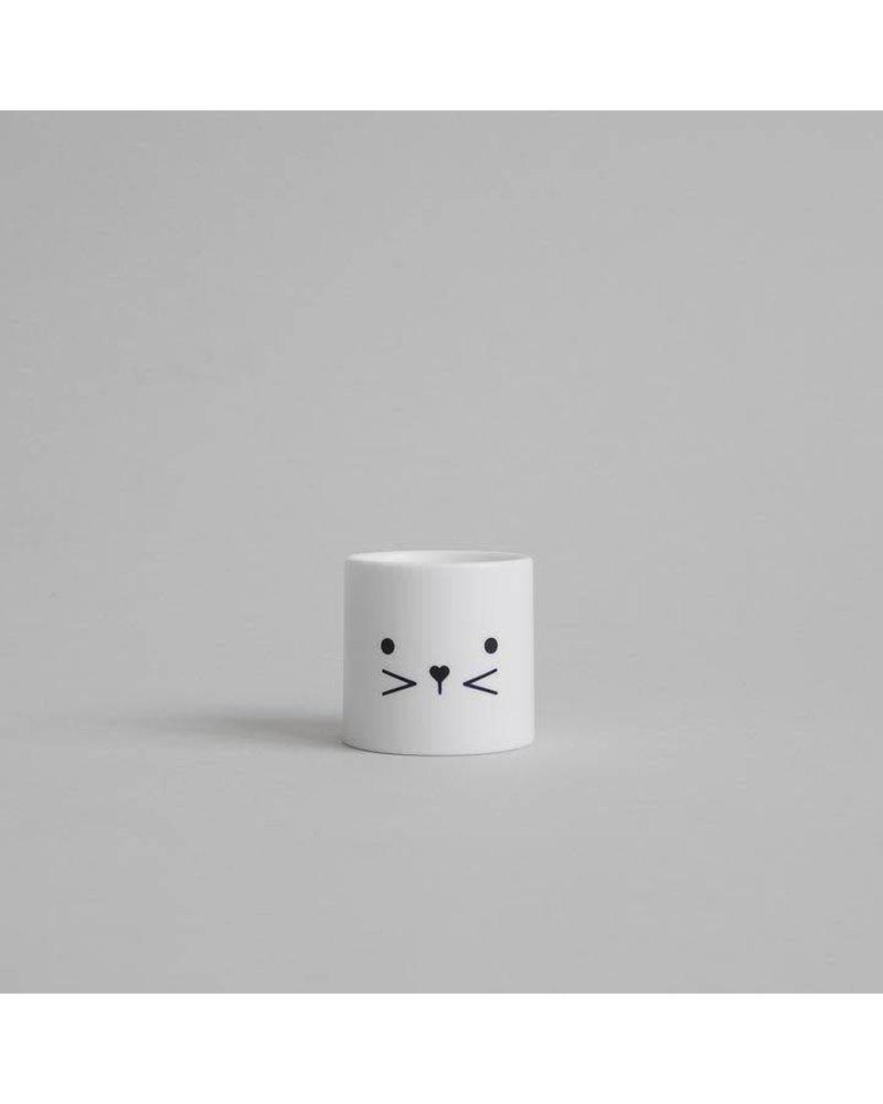 Buddy and Bear Bunny Egg Cup