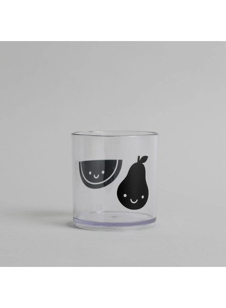 Buddy and Bear Fruit Friends Tumbler (Black)