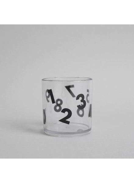 Buddy and Bear Number Tumbler (Black)