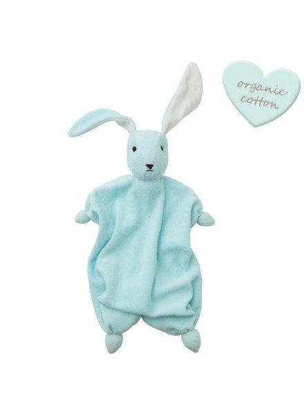 Hoppa Tino organic - Baby Blue/Off White
