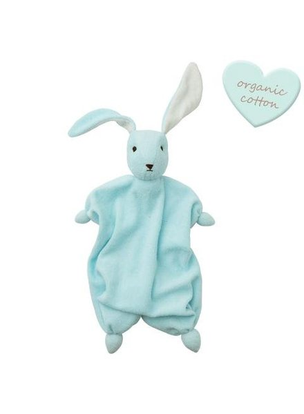 Peppa Tino organic - Baby Blue/Off White