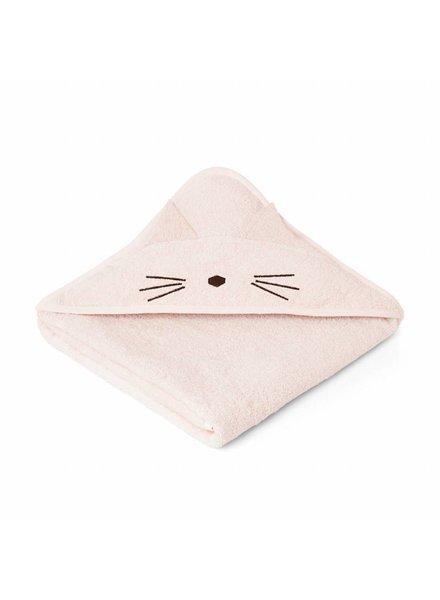 Liewood Augusta Towel Cat Sweet rose