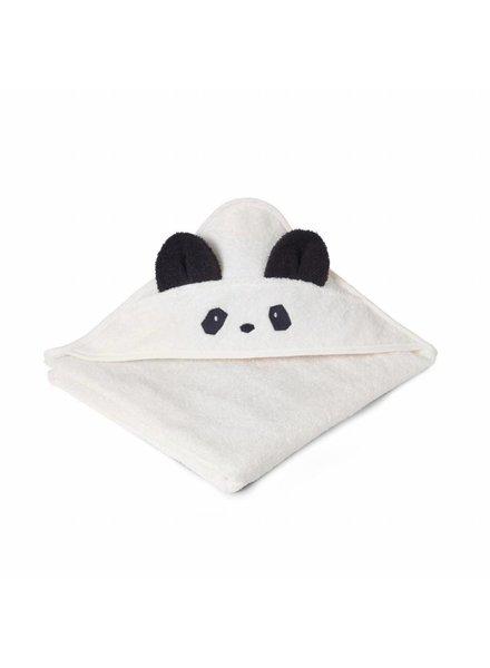 Liewood Augusta Towel Panda Creme de la creme