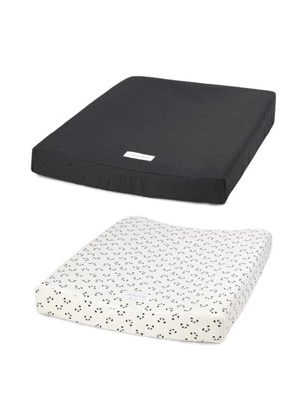 Liewood Coco changing mat cover 2 pack - 51x66 cm