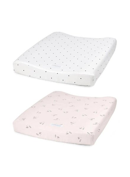 Liewood Coco changing mat cover 2 pack- 51x66 cm