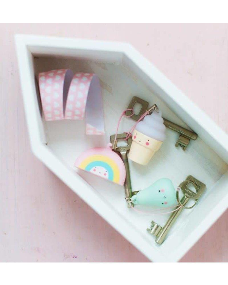 A Little Lovely Company Charm: Regenboog