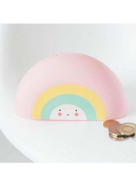 A Little Lovely Company Spaarpot: Regenboog