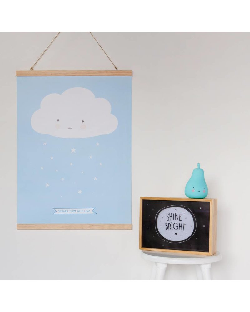 A Little Lovely Company Poster hanger: A3