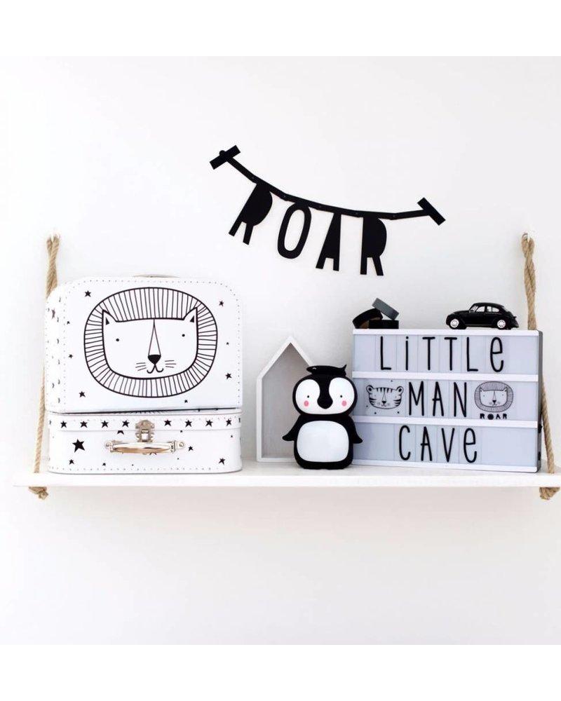 A Little Lovely Company Koffertje: Leeuw