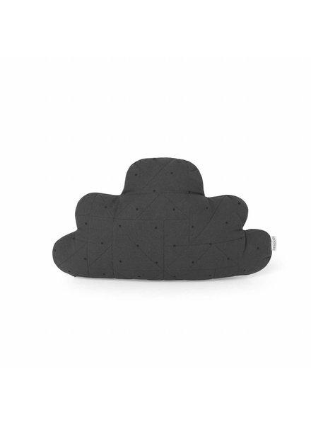 Liewood Luna pillow cloud Classic dot Dark grey