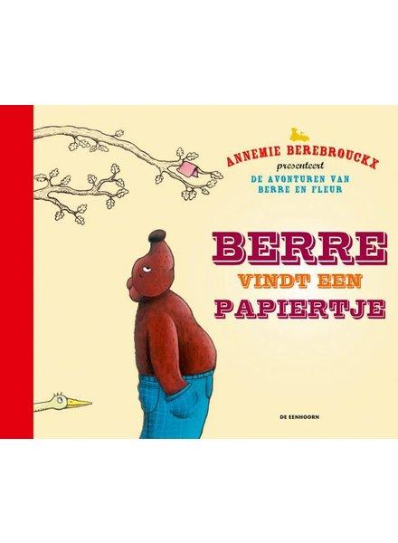 De Eenhoorn Berre vindt een papiertje