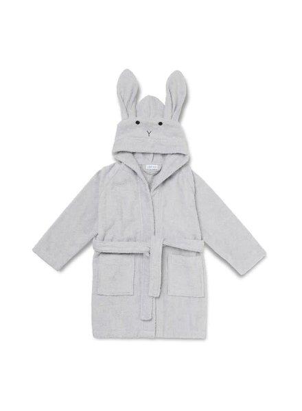 Liewood Lily bathrobe rabbit - Dumbo grey