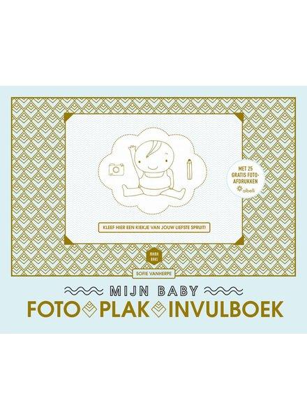 Lannoo Mama baas babyfoto-plak-invulboek